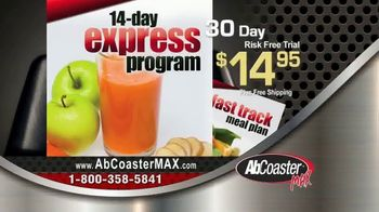 AbCoaster MAX TV Spot, 'Coast Your Way to Great Abs' - Thumbnail 9