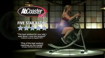 AbCoaster MAX TV Spot, 'Coast Your Way to Great Abs' - Thumbnail 1