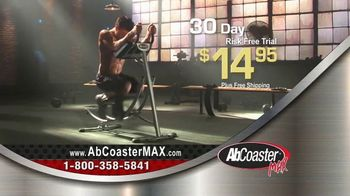 AbCoaster MAX TV Spot, 'Coast Your Way to Great Abs' - Thumbnail 8