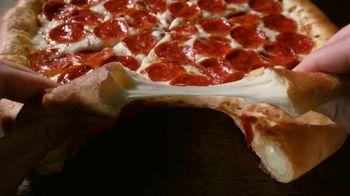 Pizza Hut Original Stuffed Crust TV Spot, 'Crust First'