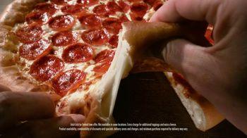 Pizza Hut Original Stuffed Crust TV Spot, 'Crust First' - Thumbnail 6