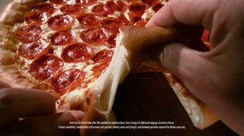 Pizza Hut Original Stuffed Crust TV Spot, 'Back It Up' - Thumbnail 6