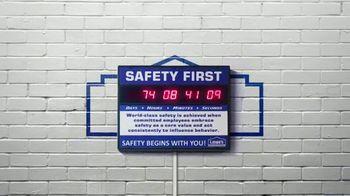 Lowe's TV Spot, 'Safety Unites Us' - Thumbnail 6