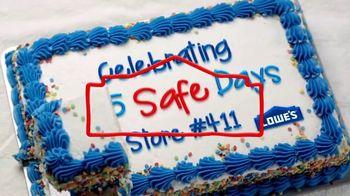 Lowe's TV Spot, 'Safety Unites Us' - Thumbnail 8