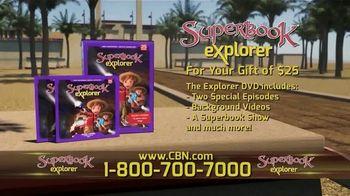 CBN Superbook TV Spot, 'Explorer Volume 25' - Thumbnail 4