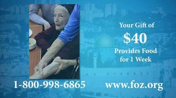 Friends of Zion TV Spot, 'An Urgent Need' - 112 commercial airings