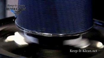 Keep It Klean Revolution Air Filter TV Spot, 'Save Time, Money and Energy' - Thumbnail 2