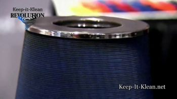 Keep It Klean Revolution Air Filter TV Spot, 'Save Time, Money and Energy' - Thumbnail 5