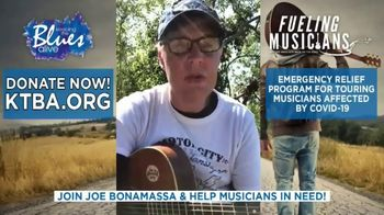 Keeping the Blues Alive TV Spot, 'Fueling Musicians Relief Program' Featuring Joe Bonamassa - 17 commercial airings