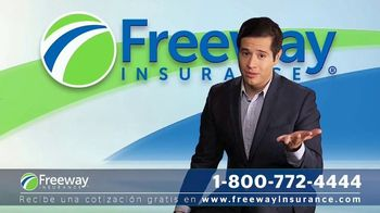Freeway Insurance TV Spot, 'Seguro de auto: ahorra hasta $839 dólares' [Spanish] - Thumbnail 2