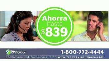 Freeway Insurance TV Spot, 'Seguro de auto: ahorra hasta $839 dólares' [Spanish] - Thumbnail 5