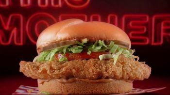 Checkers Mother Cruncher Chicken Sandwich TV Spot, 'Get a Better Mother: $3.99'