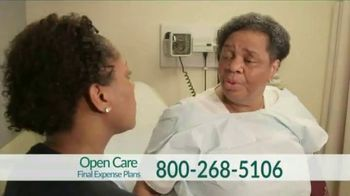 Open Care Insurance Services Final Expense Plan TV Spot, 'At Peace: $30,000'