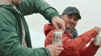 Coors Light TV Spot, 'Fishing Just to Get Outside' Song by Waylon Jennings