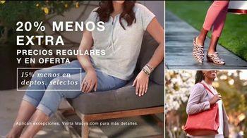 Macy's TV Spot, 'Moda de verano: 25-40 por ciento' [Spanish] - Thumbnail 2