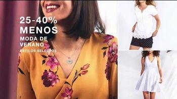 Macy's TV Spot, 'Moda de verano: 25-40 por ciento' [Spanish] - Thumbnail 6
