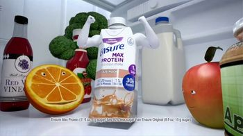 Ensure Max Protein TV Spot, 'More Protein, Less Sugar: Immune Health'