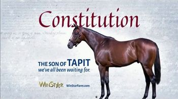 WinStar Farm, LLC TV Spot, 'Constitution: What We've Been Waiting For'