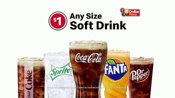 McDonald's $1 $2 $3 Dollar Menu TV Spot, 'More Than a Drink: Any Size Soft Drink' - Thumbnail 9