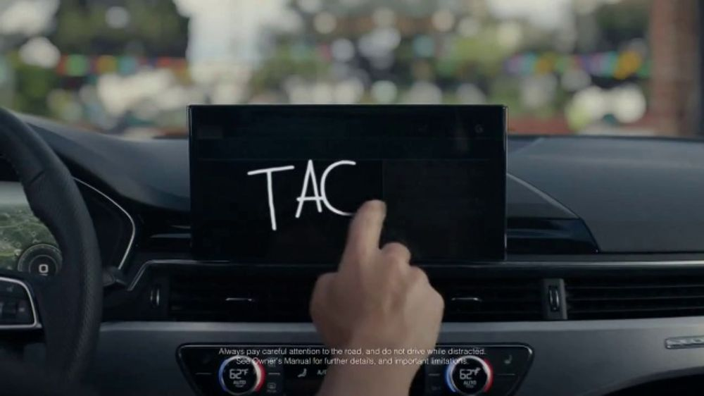 2020 Audi A4 TV Commercial, 'Touch and Go' [T1]