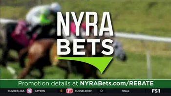 NYRA Bets TV Spot, 'Opening Week: 5 Percent Rebate' - Thumbnail 1