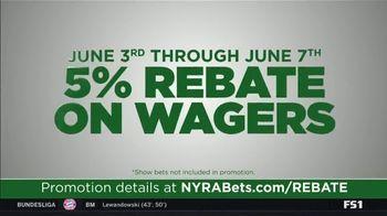 NYRA Bets TV Spot, 'Opening Week: 5 Percent Rebate' - Thumbnail 3