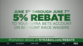 NYRA Bets TV Spot, 'Opening Week: 5 Percent Rebate' - Thumbnail 5