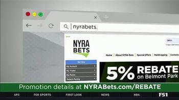 NYRA Bets TV Spot, 'Opening Week: 5 Percent Rebate' - Thumbnail 6