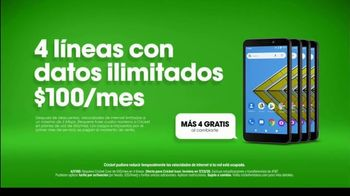 Cricket Wireless TV Spot, 'Far Away: teléfono Cricket Icon' [Spanish] - Thumbnail 8