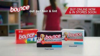 Bounce Pet Hair & Lint Guard TV Spot, 'Repel Pet Hair' - Thumbnail 10