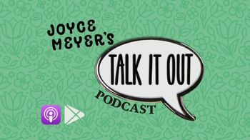 Joyce Meyer Ministries Talk It Out Podcast TV Spot, 'Marriage' - Thumbnail 1