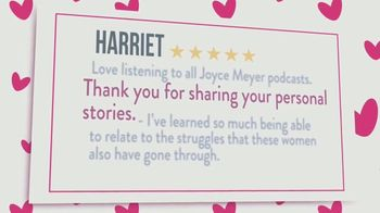 Joyce Meyer Ministries Talk It Out Podcast TV Spot, 'Marriage' - Thumbnail 4
