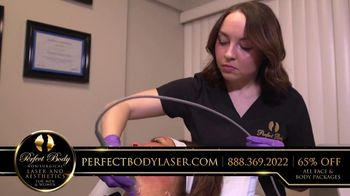 Perfect Body Laser and Aesthetics TV Spot, 'Tired of Looking Older'