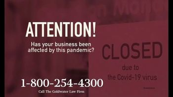 Goldwater Law Firm TV Spot, 'Affected by the Pandemic: Review Your Insurance Policy' - Thumbnail 2