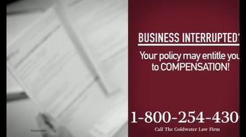 Goldwater Law Firm TV Spot, 'Affected by the Pandemic: Review Your Insurance Policy' - Thumbnail 3