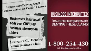 Goldwater Law Firm TV Spot, 'Affected by the Pandemic: Review Your Insurance Policy' - Thumbnail 5