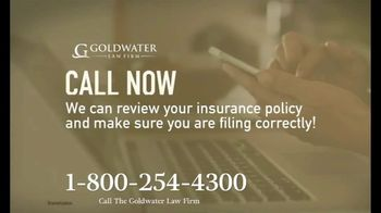 Goldwater Law Firm TV Spot, 'Affected by the Pandemic: Review Your Insurance Policy' - Thumbnail 6
