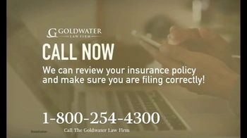 Goldwater Law Firm TV Spot, 'Affected by the Pandemic: Review Your Insurance Policy' - Thumbnail 7