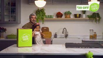 HelloFresh TV Spot, 'Monica, Matt and Olive: $30 Off' - Thumbnail 4