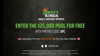 DraftKings Pools TV Spot, 'Not Too Late: UFC: $25,000' - Thumbnail 9