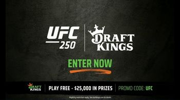 DraftKings Pools TV Spot, 'Not Too Late: UFC: $25,000' - 4 commercial airings