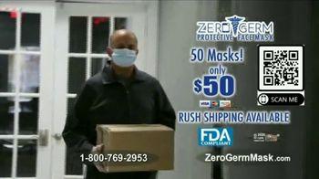 Zero Germ KN95 Face Mask TV Spot, 'Protective Face Mask: 50 Masks for $50' - Thumbnail 10
