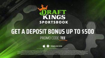 DraftKings Sportsbook TV Spot, 'Golf Is Back: $500 Deposit Bonus' - Thumbnail 10