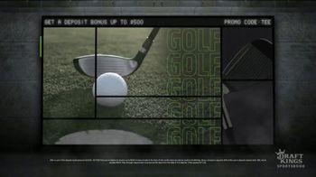 DraftKings Sportsbook TV Spot, 'Golf Is Back: $500 Deposit Bonus' - Thumbnail 2