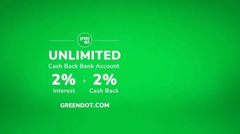 Green Dot Unlimited TV Spot, 'Why Online Shoppers Love Green Dot Banking' - Thumbnail 9