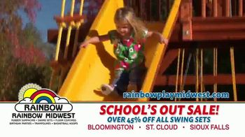 Rainbow Play Systems, Inc. School's Out Sale TV Spot, 'Over 45% Off Swing Sets' - Thumbnail 4