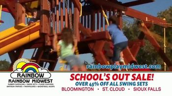 Rainbow Play Systems, Inc. School's Out Sale TV Spot, 'Over 45% Off Swing Sets' - Thumbnail 5