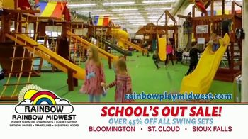 Rainbow Play Systems, Inc. School's Out Sale TV Spot, 'Over 45% Off Swing Sets' - Thumbnail 6