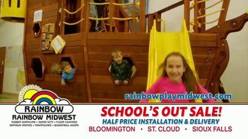 Rainbow Play Systems, Inc. School's Out Sale TV Spot, 'Over 45% Off Swing Sets' - Thumbnail 7