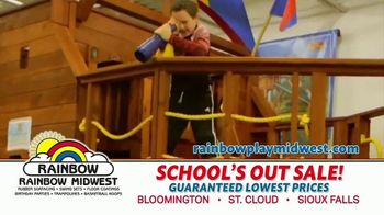 Rainbow Play Systems, Inc. School's Out Sale TV Spot, 'Over 45% Off Swing Sets' - Thumbnail 8